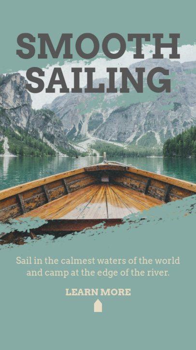 Instagram Story Maker to Promote Sailing 2487d-el1