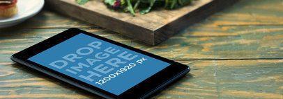 Nexus 7 Black Portrait Bistro Restaurant Table Wide