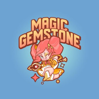 Logo Maker with a Graphic Inspired in League of Legends' Star Guardians 3598e