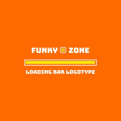 Loading Bar Logo Maker With a Bold Typography 3615c