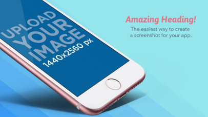 iOS Screenshots for App Marketing