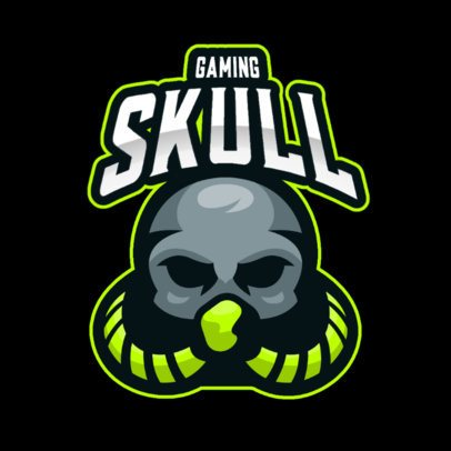 Gaming Logo Maker with Monsters and Skulls Graphics 2798-el1