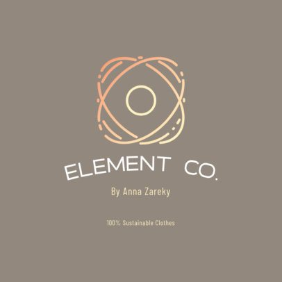 Abstract Logo Generator for a Sustainable Clothing Brand 3630f
