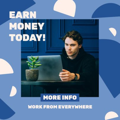 Ad Banner Generator for a Work-From-Home Business Opportunity 2901a