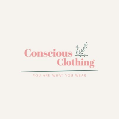 Logo Maker for a Sustainable Clothing Brand 3631