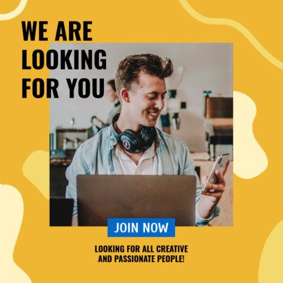 Multi-Level Marketing Ad Banner Maker to Promote Remote Jobs 2901j