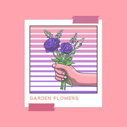 Illustrated Album Cover Maker for a Romantic Musician 3644i
