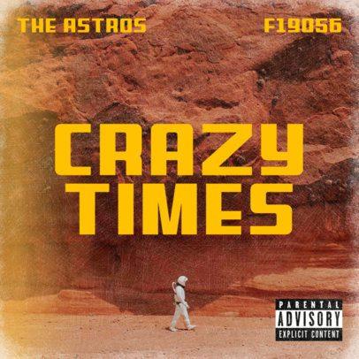 Album Cover Creator for a New Rock Band's Album 2933a