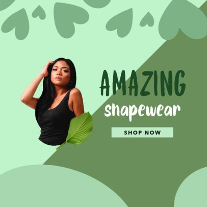 Ad Banner Template for a Dropshipping Swimwear Business 2938a