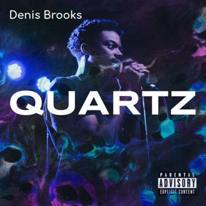 Album Cover Maker for an R&B Artist's New Single 2933d