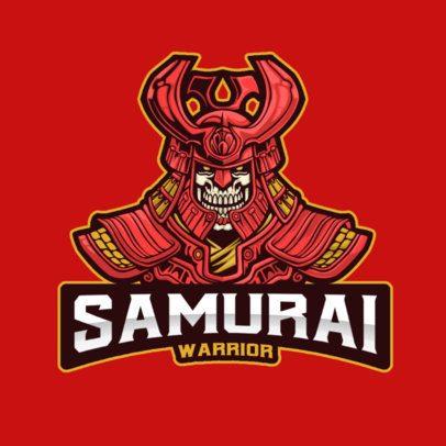 Illustrated Logo Maker Featuring Samurai Warriors 2930-el1