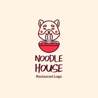 Free Logo Maker for an Asian Food Restaurant 3696