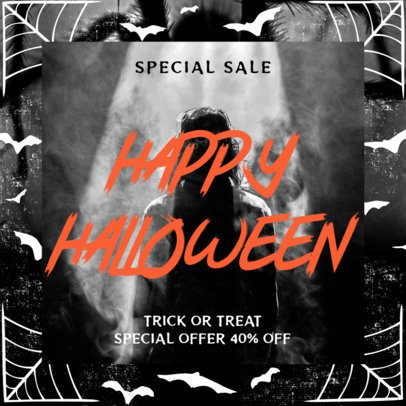 Instagram Post Maker for a Halloween Special Offer 2967d