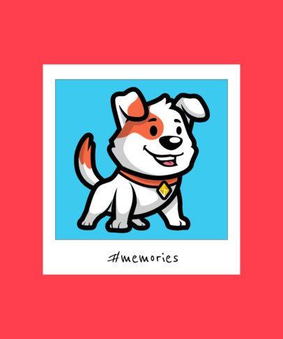 Kids T-Shirt Design Maker Featuring Cute Pet Illustrations 2932-el1