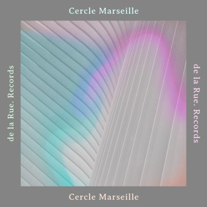 Minimalist Cover Design Template for a Lo-Fi Album 2958a