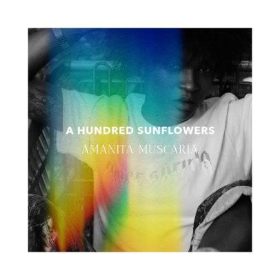 Album Art Maker for a Female Rap Artist Featuring a Rainbow Flare Effect 2958f