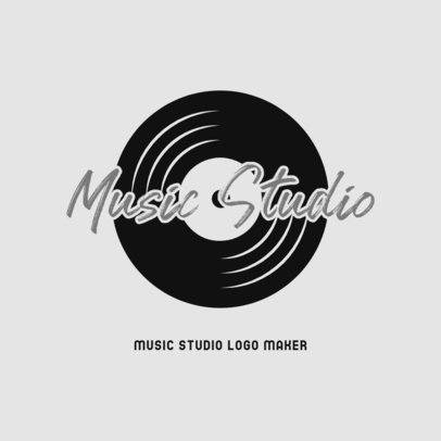 Modern Logo Template Featuring Music-Related Graphics 3698