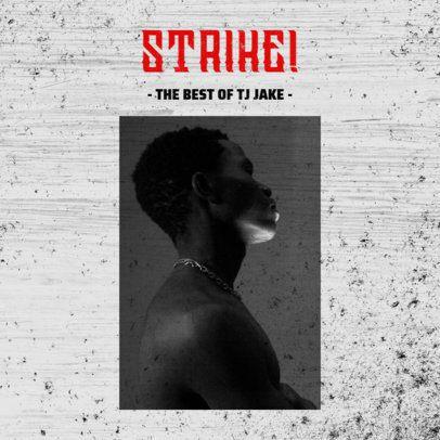 Simple Mixtape Cover Maker for Hip-Hop Artists 2984b