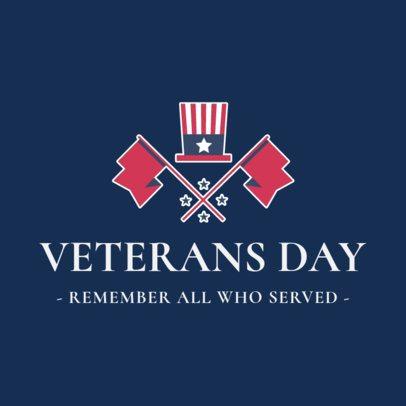 Veterans' Day Instagram Post Maker Remembering War Heroes 2994g