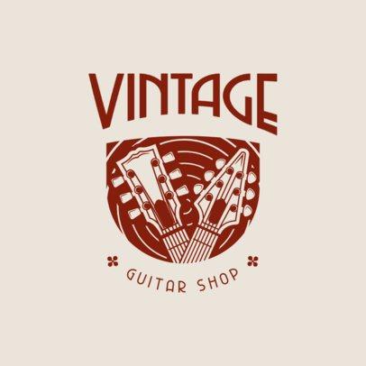 Logo Creator for a Guitar Shop 3704g