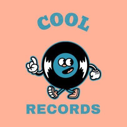 Vintage Logo Maker for a Music Recording Studio 3735a