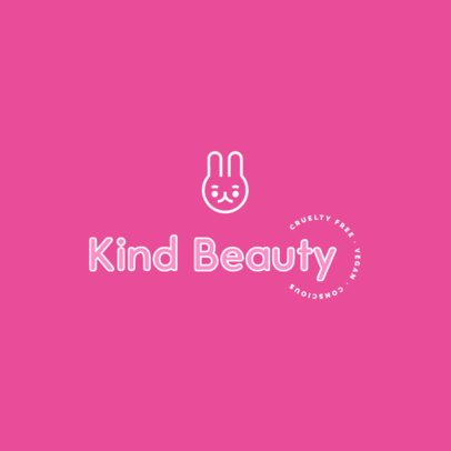 Cute Logo Template for an Eco-Friendly Beauty Brand 3725f