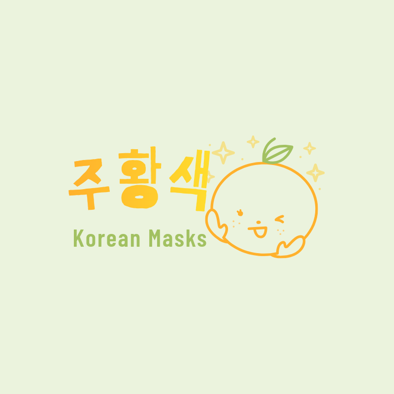 Korean Masks Logo Template for Dropshippers with a Cute Style 3730b