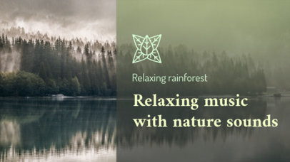 YouTube Thumbnail Design Generator for Nature and Relaxing Sounds Playlists 3064e