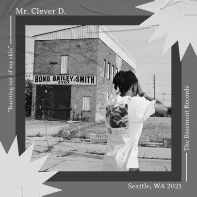 Album Cover Design Generator for Trap Artists 3986c-el1
