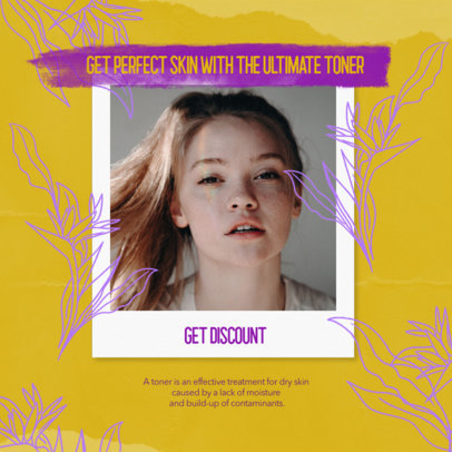 Instagram Post Design Template for a Beauty Multi-Level Marketing Business 3066g