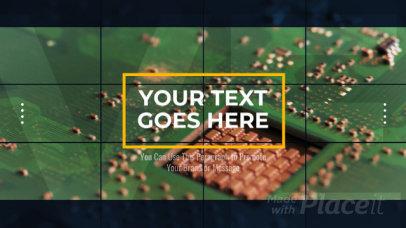 Corporate Slideshow Video Maker for Tech Companies 2403-el1