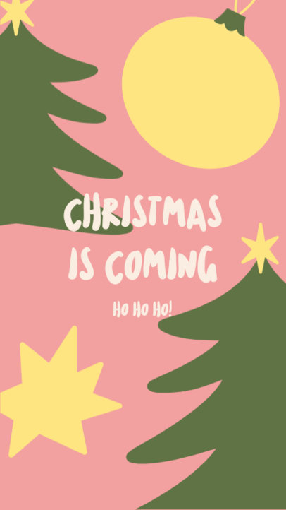 Illustrated Instagram Story Generator Featuring a Xmas Message 3085d