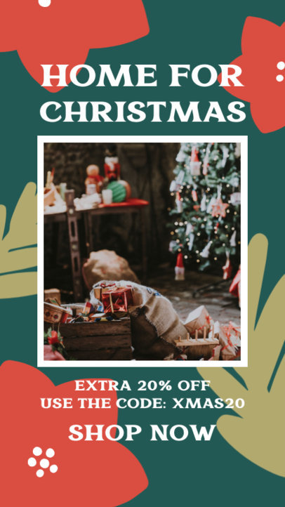 Instagram Story Maker to Announce a Discount for Christmas 3085f