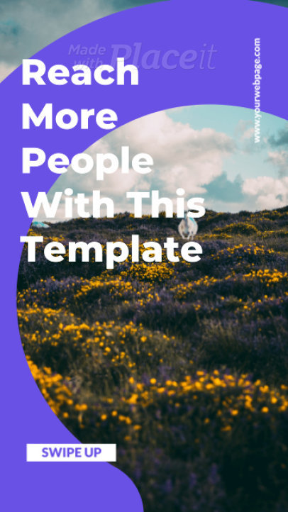 Instagram Story Video Maker Featuring an Animated Quote and Simple Motion Graphics 2424-el1