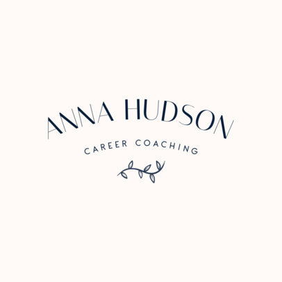 Logo Template for a Life and Career Coach 3788