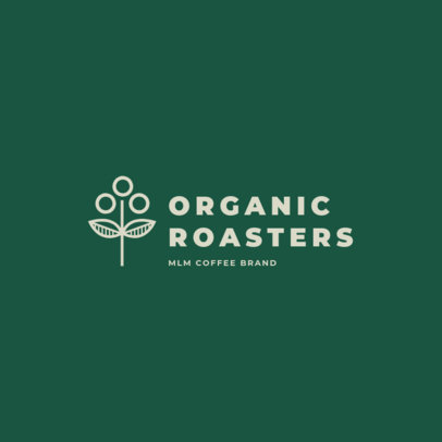 Logo Template for an MLM Coffee Brand 3851