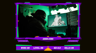 Twitch Overlay Maker Featuring Scoreboards for Online Tournaments 3215-el1