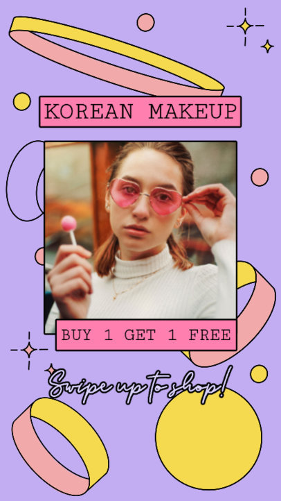 Instagram Story Creator for a Korean Makeup Brand 3170e