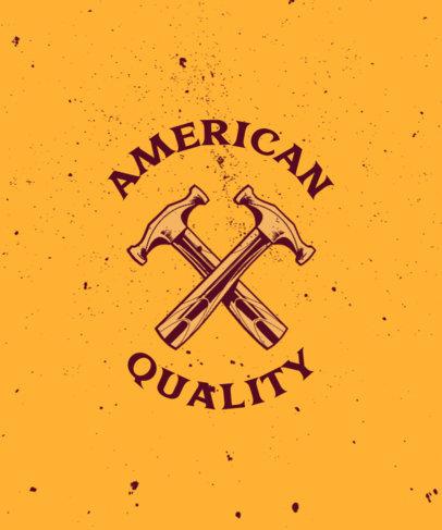 T-Shirt Design Generator for American Labor Unions 3179c