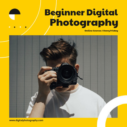 Instagram Post Creator for an Online Photography Course for Beginners 3248b-el1