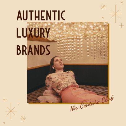 Trendy Instagram Post Maker for a Luxury Brand 3200d