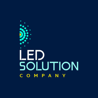 Logo Maker for a LED Solutions Company 3872b