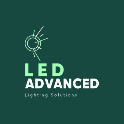 Logo Creator for an Advanced LED Lamps-Selling Company 3872d