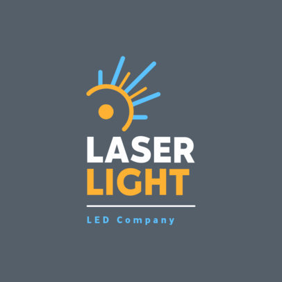 Online Logo Maker for a LED Lamps Company 3872e