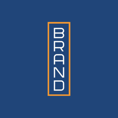 Vertical Logo Creator for a Brand 3867b
