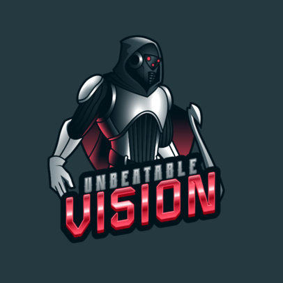 Logo Maker for a Gamer with an Illustration Inspired bt Destiny's Nightstalkers 3884k