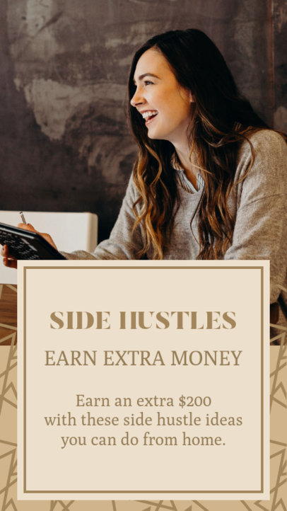 Instagram Story Creator for Side Hustle Tips 3234b