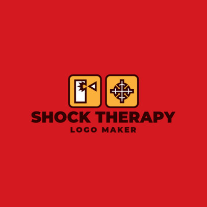 Music Logo Template Featuring Packaging Symbols 3939e