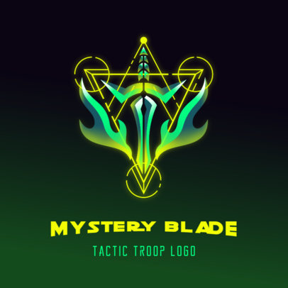 Destiny-Inspired Logo Maker Featuring Galactic Shapes 3949