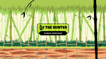 Discord Theme Generator with a Bamboo Forest Illustration Background 3339c-el1